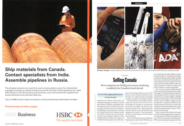 Article Preview: Selling Canada, March 2011 | Maclean's