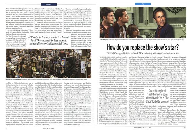 Article Preview: How do you replace the show's star?, March 2011 | Maclean's