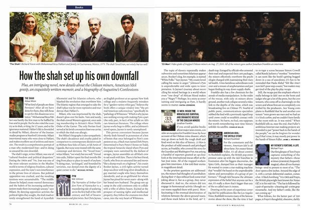 Article Preview: How the shah set up his own downfall, March 2011 | Maclean's