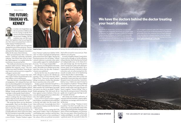 Article Preview: THE FUTURE: TRUDEAU VS. KENNEY, March 2011 | Maclean's