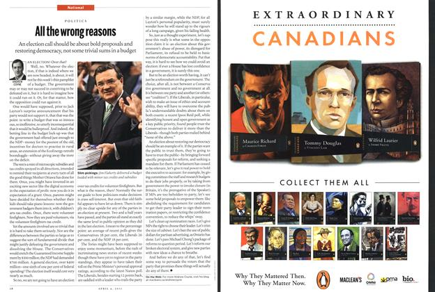 Article Preview: All the wrong reasons, April 2011 | Maclean's