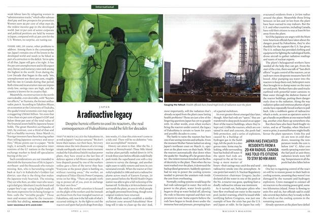 Article Preview: A radioactive legacy, April 2011 | Maclean's