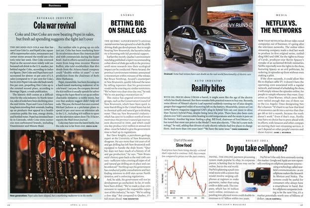 Article Preview: Cola war revival, April 2011 | Maclean's