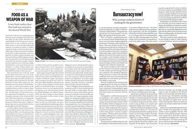 Article Preview: FOOD ASA WEAPON OF WAR, April 2011 | Maclean's
