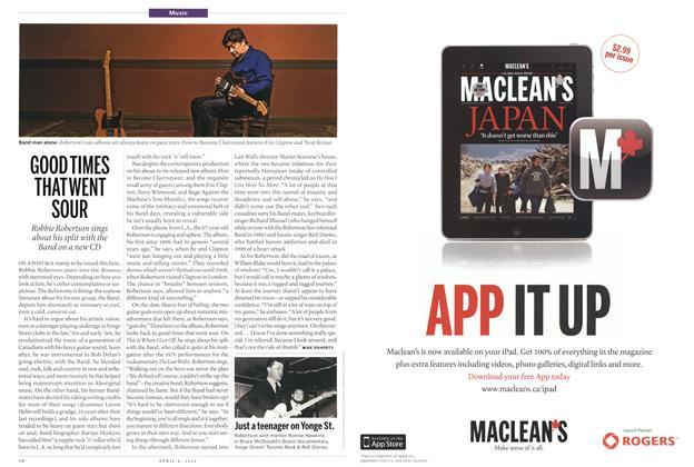 Article Preview: GOODTIMES THATWENT SOUR, April 2011 | Maclean's