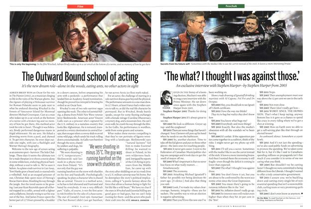 Article Preview: The Outward Bound school of acting, April 2011 | Maclean's