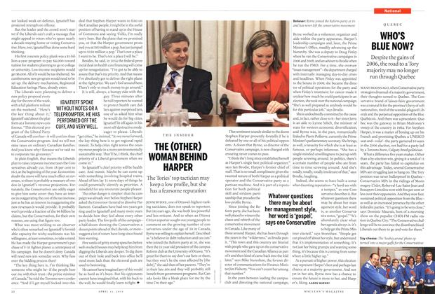 Article Preview: THE(OTHER) WOMAN BEHIND HARPER, April 2011 | Maclean's