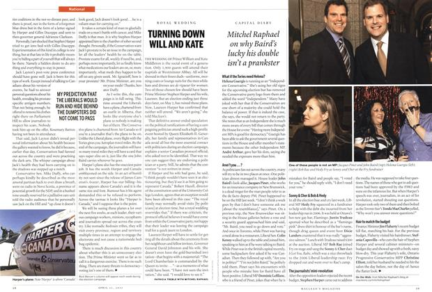 Article Preview: TURNING DOWN WILL AND KATE, April 2011 | Maclean's