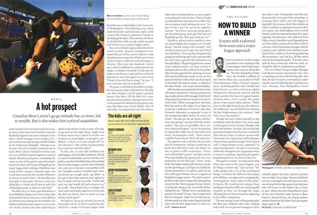 Article Preview: A hot prospect, April 2011 | Maclean's