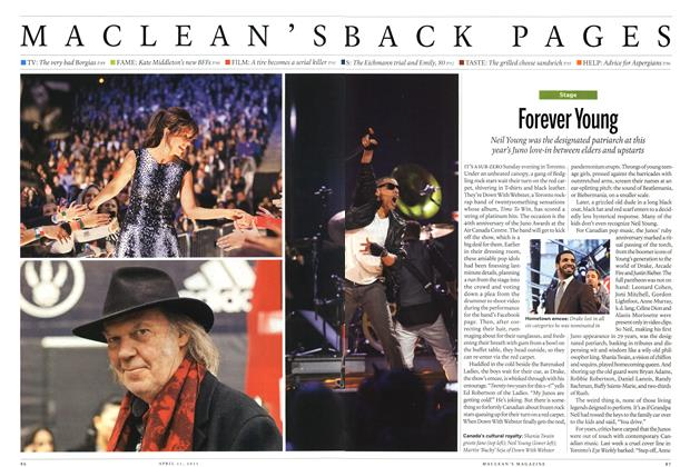 Article Preview: Forever Young, April 2011 | Maclean's