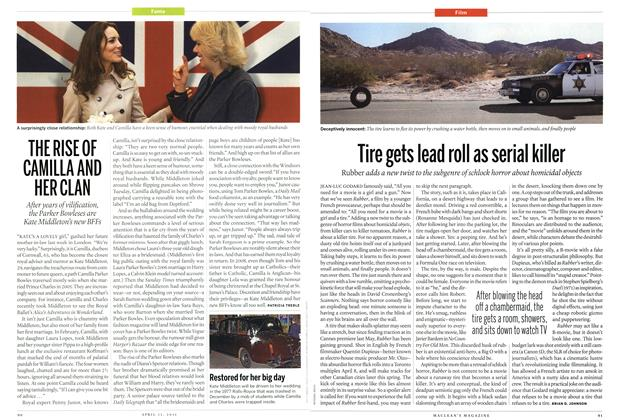 Article Preview: THE RISE OF CAMILLA AND HER CLAN, April 2011 | Maclean's