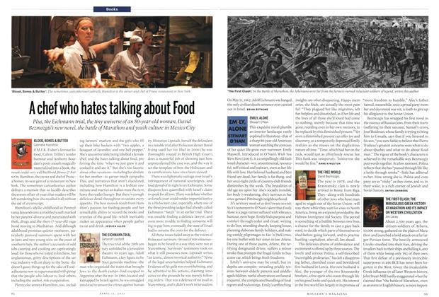 Article Preview: A chef who hates talking about Food, April 2011 | Maclean's