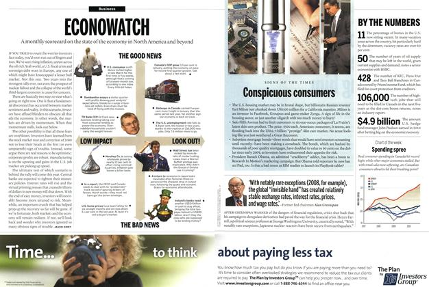 Article Preview: BY THE NUMBERS, April 2011 | Maclean's