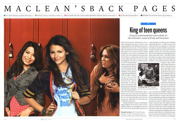 Article Preview: King of teen queens, April 2011   Maclean's