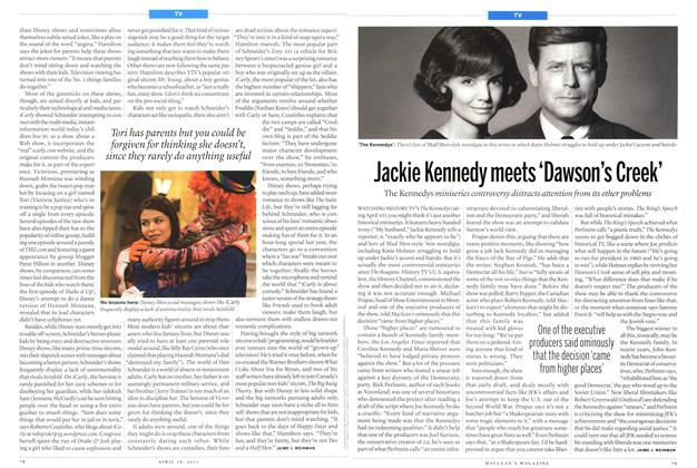 Article Preview: Jackie Kennedy meets 'Dawson's Creek', April 2011 | Maclean's