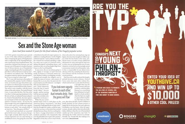 Article Preview: Sex and the Stone Age woman, April 2011 | Maclean's
