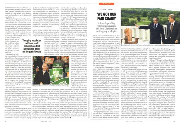 Article Preview: 'WE GOT OUR FAIR SHARE', April 2011 | Maclean's