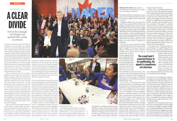 Article Preview: A CLEAR DIVIDE, May 2011 | Maclean's