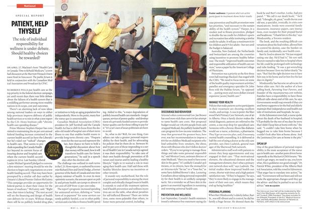 Article Preview: PATIENT, HELP THYSELF, May 2011 | Maclean's