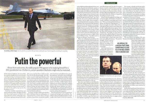 Article Preview: Putin the powerful, May 2011 | Maclean's