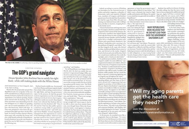 Article Preview: The GOP's grand navigator, May 2011 | Maclean's