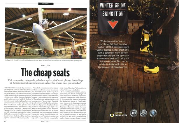 Article Preview: The cheap seats, May 2011 | Maclean's