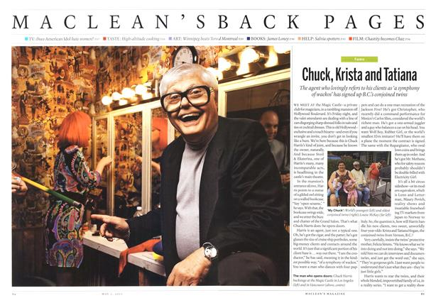 Article Preview: Chuck, Krista and Tatiana, May 2011 | Maclean's