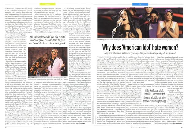 Article Preview: Why does 'American Idol' hate women?, May 2011 | Maclean's