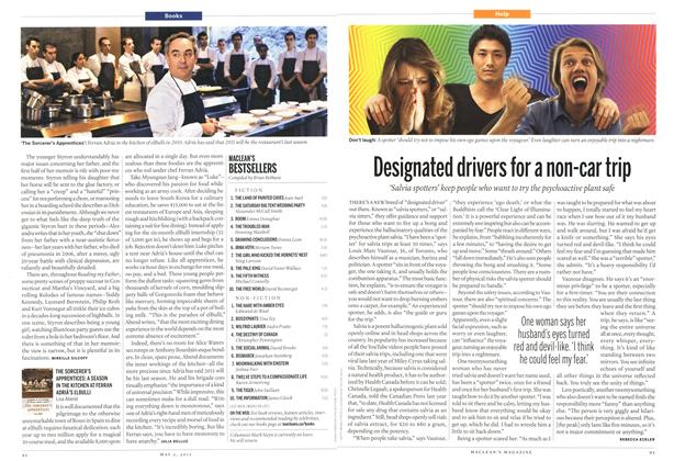 Article Preview: Designated drivers for a non-car trip, May 2011 | Maclean's