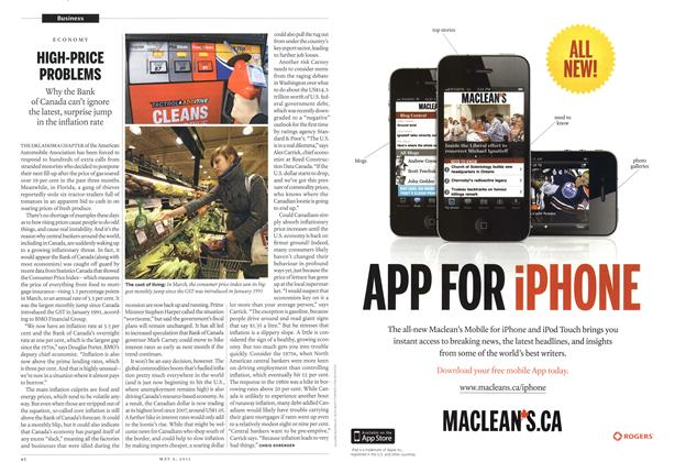 Article Preview: HIGH-PRICE PROBLEMS, May 2011 | Maclean's
