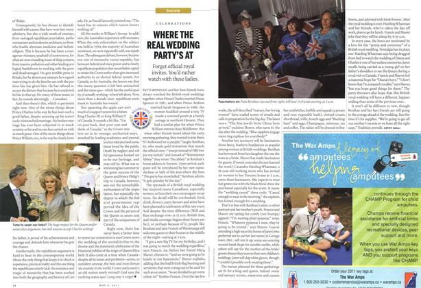 Article Preview: WHERE THE REAL WEDDING PARTY'S AT, May 2011 | Maclean's