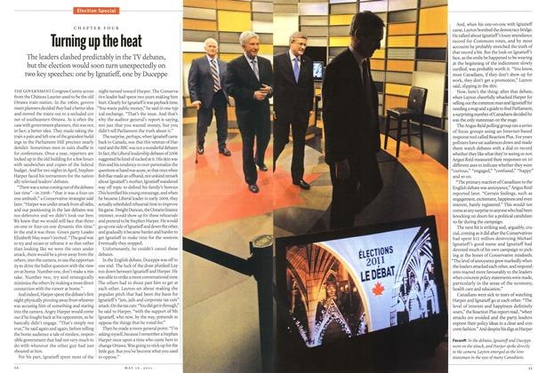 Article Preview: Turning up the heat, May 2011 | Maclean's