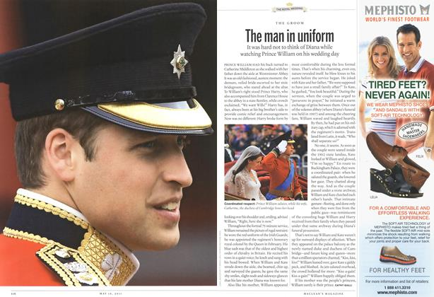 Article Preview: The man in uniform, May 2011 | Maclean's