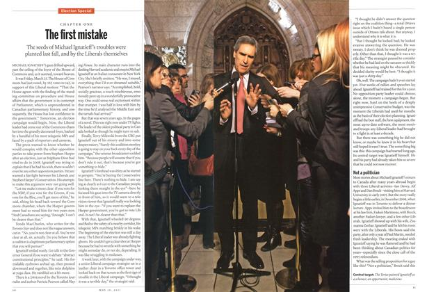 Article Preview: The first mistake, May 2011 | Maclean's