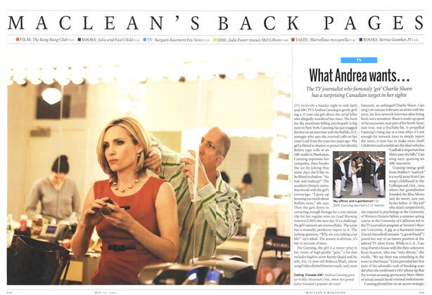 Article Preview: What Andrea wants..., May 2011 | Maclean's