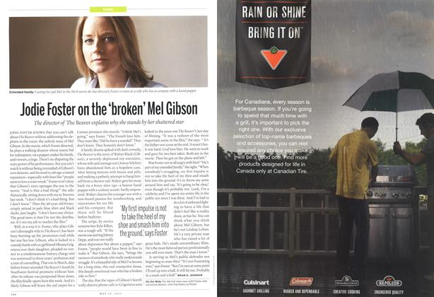 Article Preview: Jodie Foster on the'broken' Mel Gibson, May 2011 | Maclean's