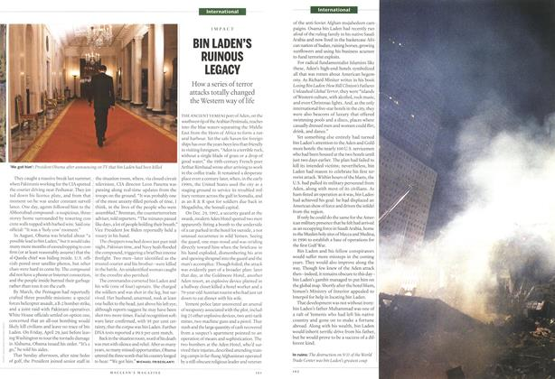 Article Preview: BIN LADEN'S RUINOUS LEGACY, May 2011 | Maclean's