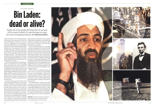 Article Preview: Bin Laden: dead or alive?, May 2011 | Maclean's