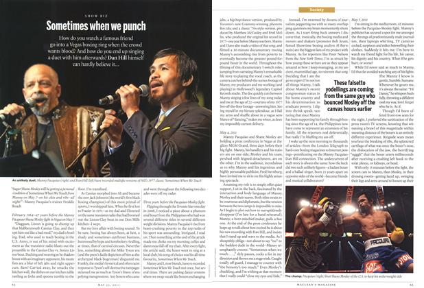 Article Preview: Sometimes when we punch, May 2011 | Maclean's
