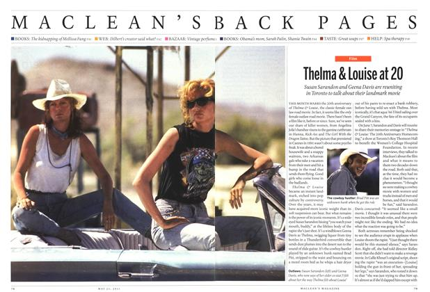 Article Preview: Thelma & Louise at 20, May 2011 | Maclean's