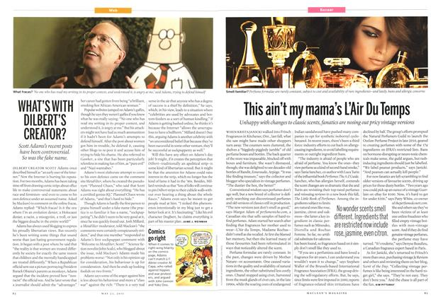 Article Preview: WHAT'S WITH DILBERT'S CREATOR?, May 2011 | Maclean's