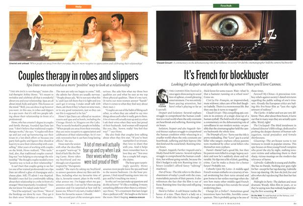 Article Preview: Couples therapy in robes and slippers, May 2011 | Maclean's