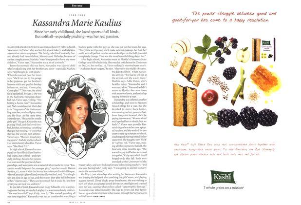 Article Preview: 1988-2011 Kassandra Marie Kaulius, May 2011 | Maclean's