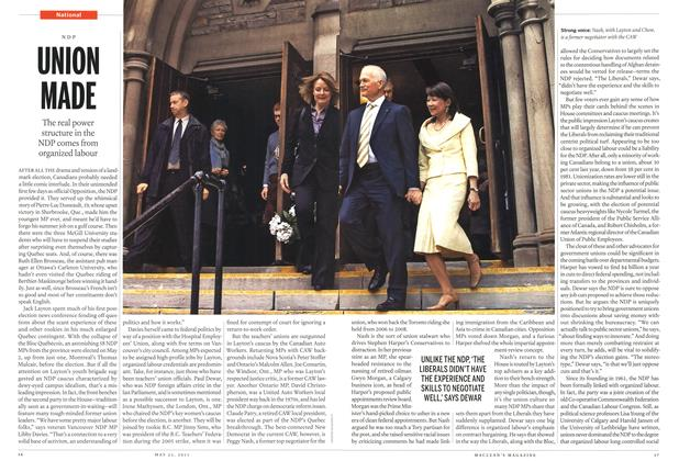 Article Preview: UNION MADE, May 2011   Maclean's