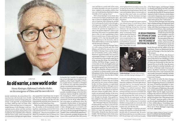 Article Preview: An old warrior, a new world order, May 2011 | Maclean's