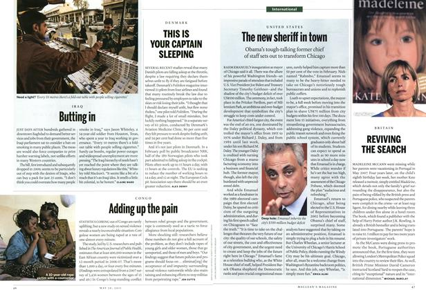 Article Preview: REVIVING THE SEARCH, May 2011 | Maclean's