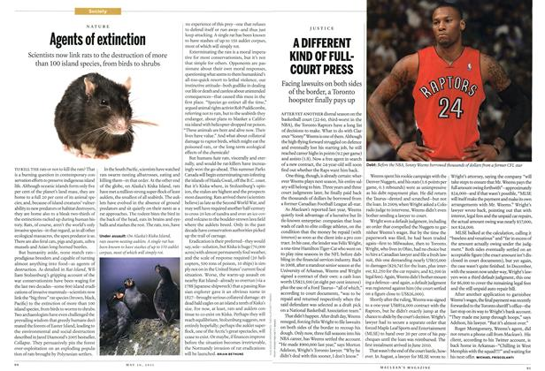 Article Preview: A DIFFERENT KIND OF FULL— COURT PRESS, May 2011 | Maclean's
