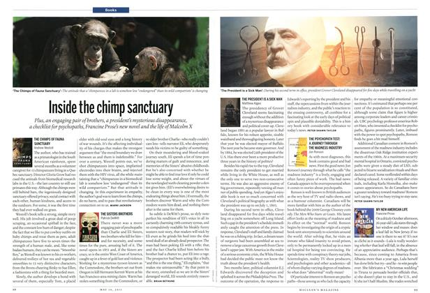 Article Preview: THE SISTERS BROTHERS Patrick DeWitt, May 2011 | Maclean's