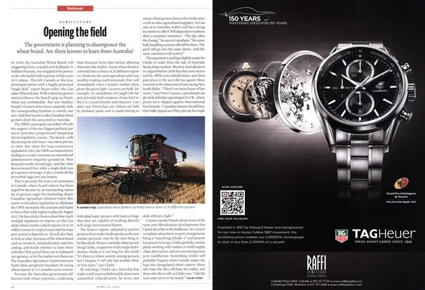 Article Preview: Opening the field, June 2011   Maclean's