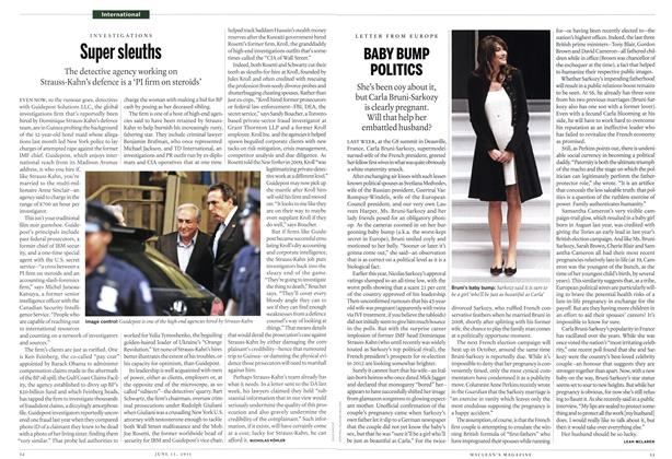 Article Preview: Supers leuths, June 2011 | Maclean's